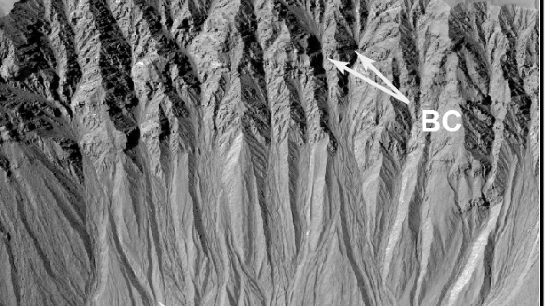 Bedrock gullies on Mars