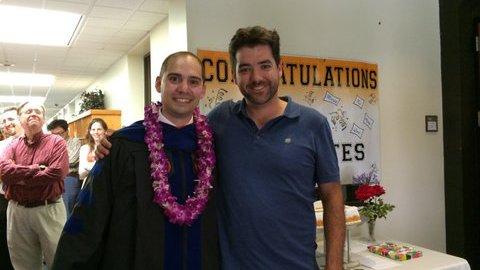 Lamb with graduate