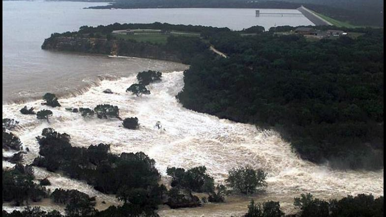 Megaflood erosion