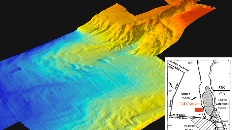 Submarine canyon formation