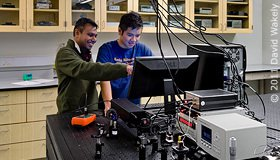 High-Precision Spectroscopy Laboratory