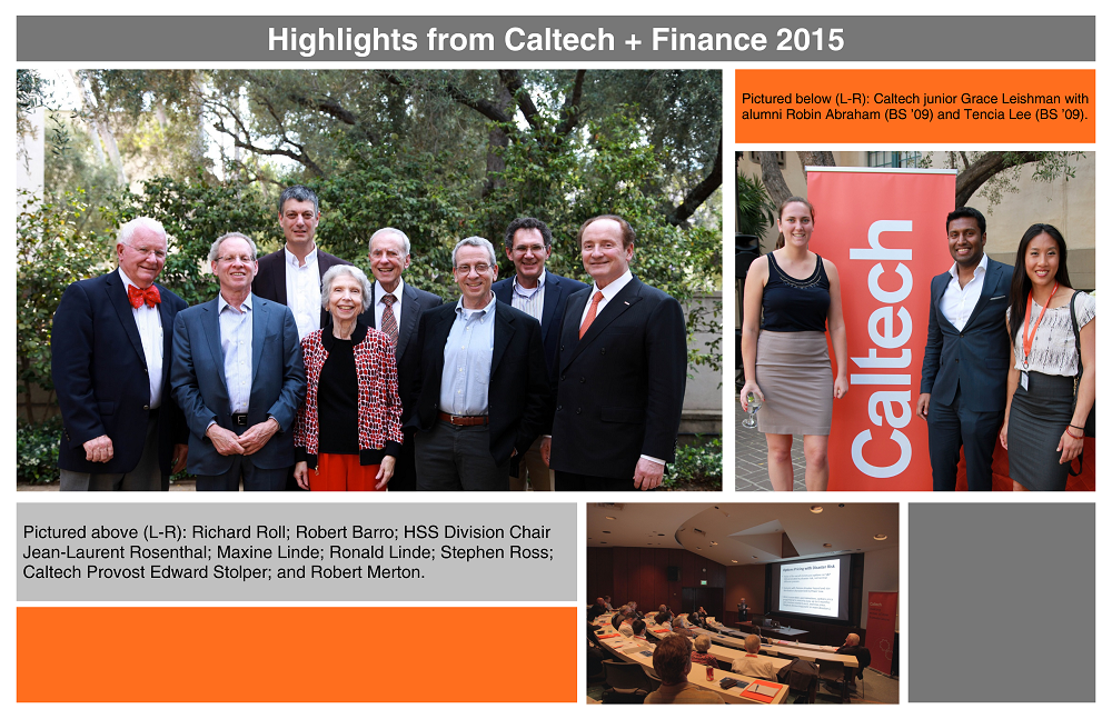 Caltech+Finance Collage