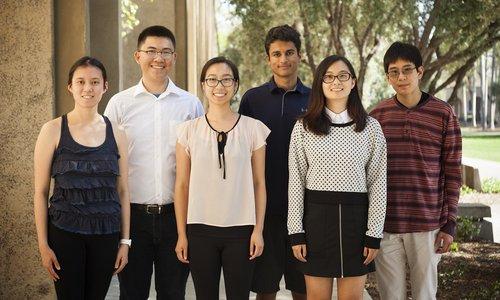 SUSI 2017 participants, caltech undergraduate students