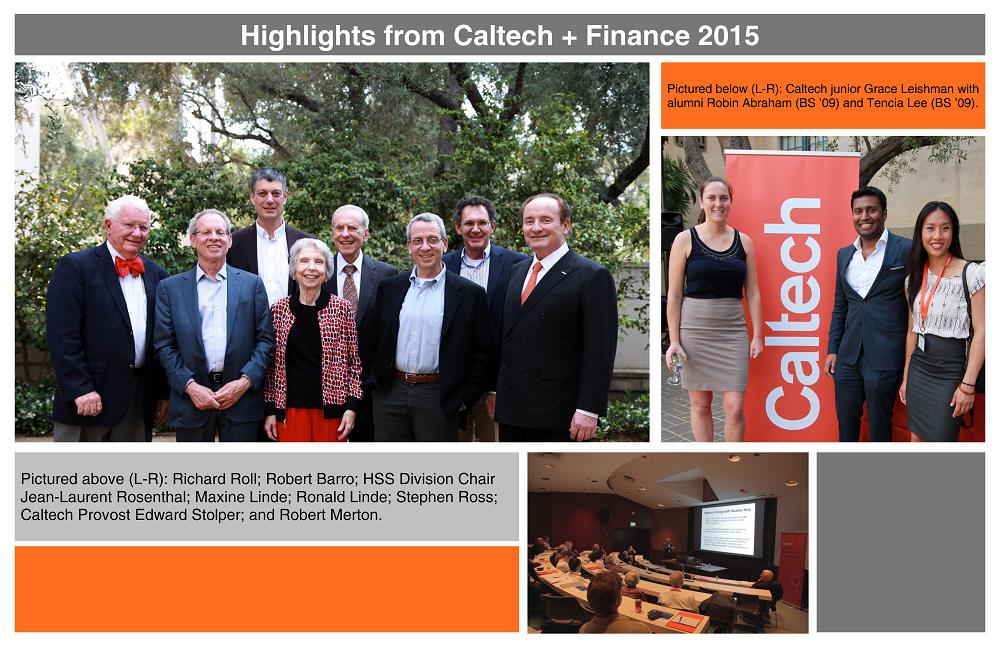 Caltech+Finance collage
