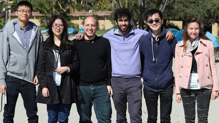 Chen Graduate Fellows at the 2018 Retreat
