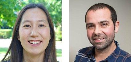 Headshots Elizabeth Hong and Joe Parker