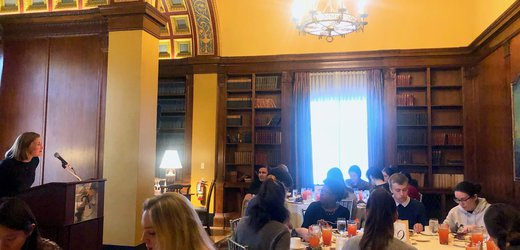 Academic programming lunch event with Dr. Melany Hunt