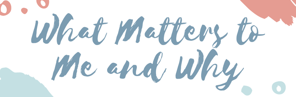 What Matters to Me and Why: ORE Speaker Series
