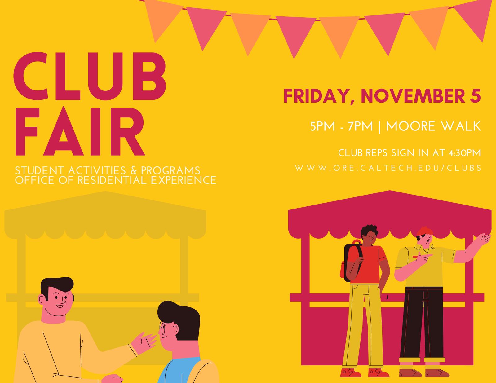 Club Fair Flyer