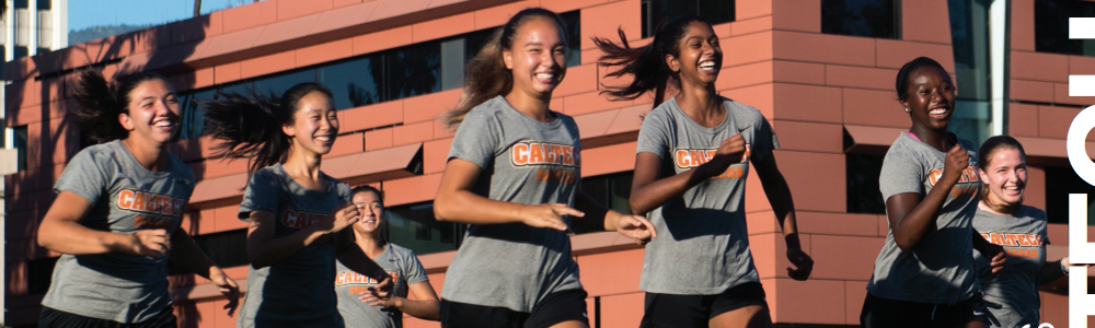 photo of the Caltech women's soccer team