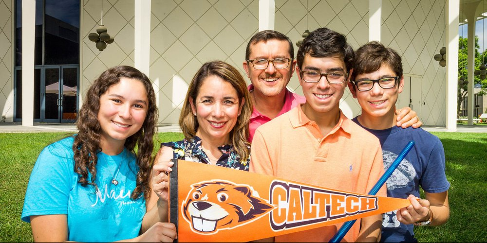 Caltech Family Class of 2023 on Move-in Day