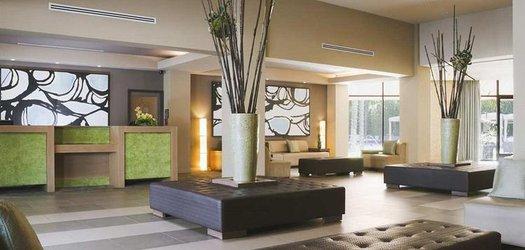 double tree lobby
