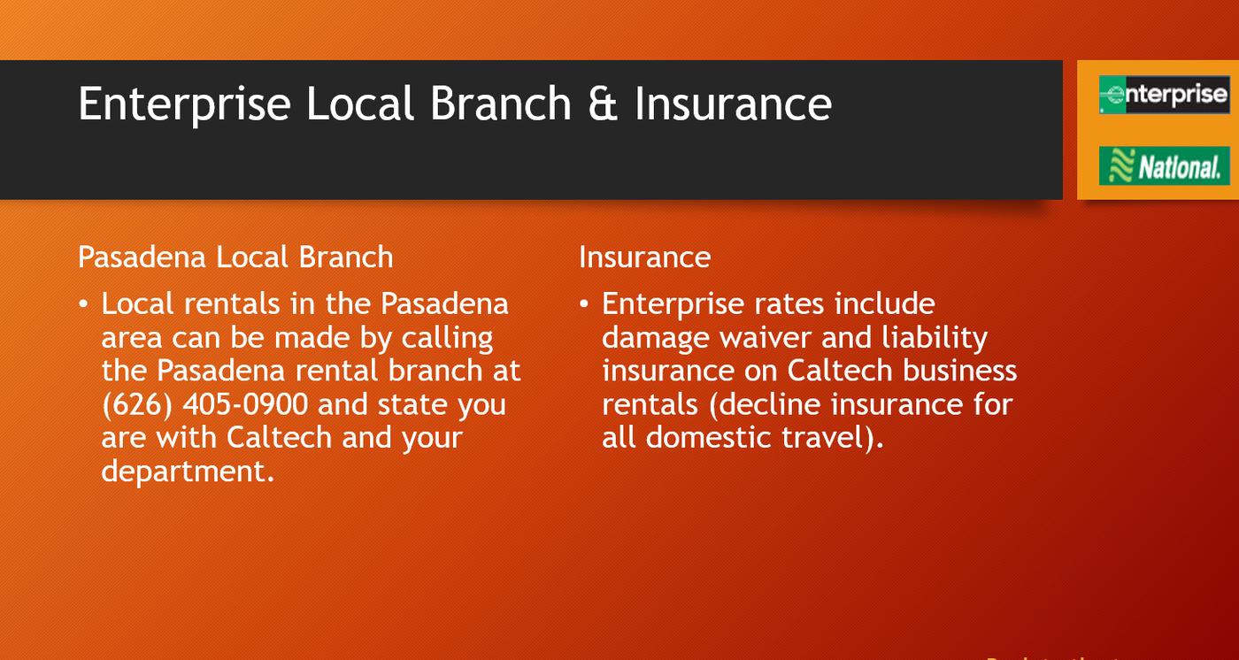 local branch & insurance