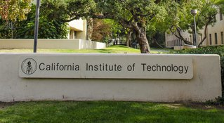 California Institute of Technology sign