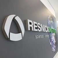 Resnick Logo Wall