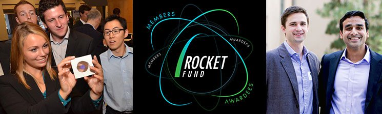 Rocket Fund logo and program participants