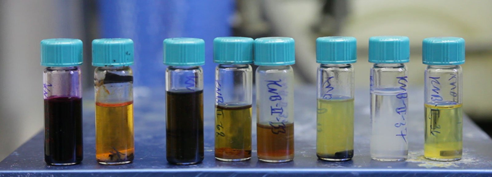 Biofuel Samples in Vials