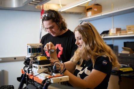 DARPA SubT students