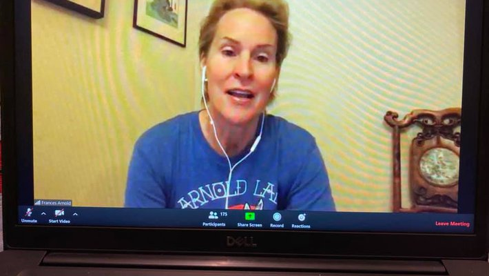 Nobel laureate Frances Arnold, the Linus Pauling Professor of Chemical Engineering, Bioengineering and Biochemistry, discusses her career during a video chat with more than 175 prospective students.