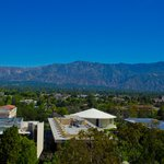 aerial view of the Caltech campus