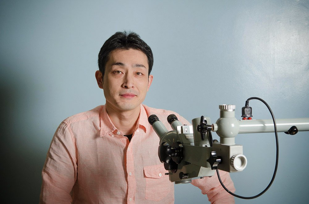 Yuki Oka, assistant professor of biology
