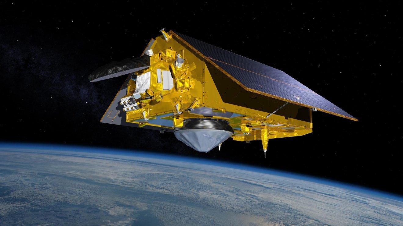 illustration of the Sentinel-6 Michael Freilich spacecraft
