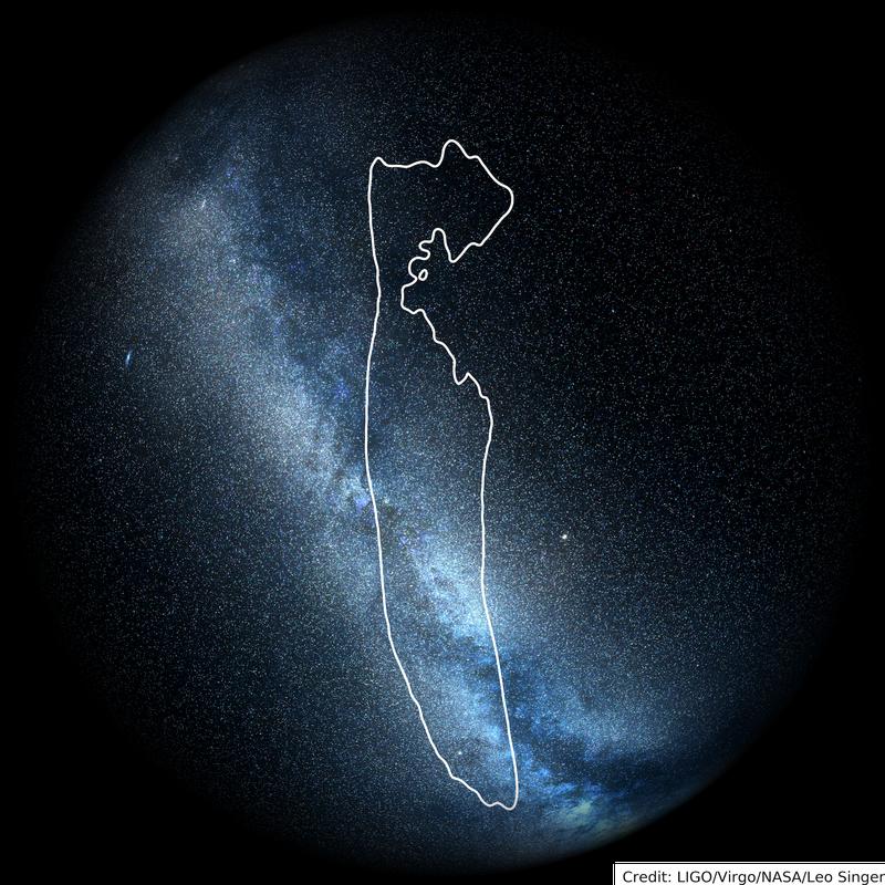 sky map of ligo signal S190426c