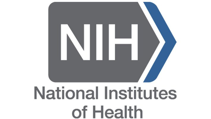 The logo of the National Institutes of Health.