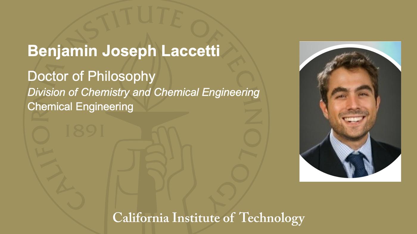 Benjamin Joseph Laccetti