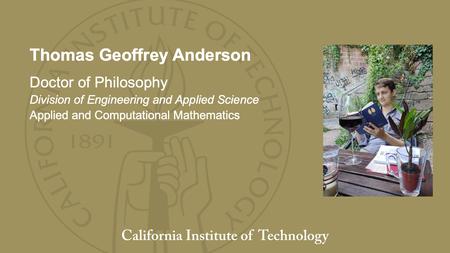 Thomas Geoffrey Anderson