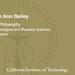 Elizabeth Ann Bailey