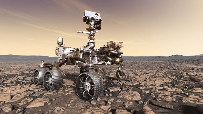 Perseverance rover, part of the Mars 2020 mission