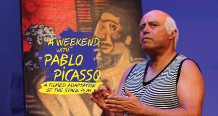 flyer image for A Weekend with Pablo Picasso