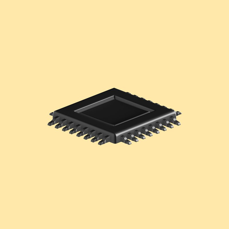illustration of a semiconductor