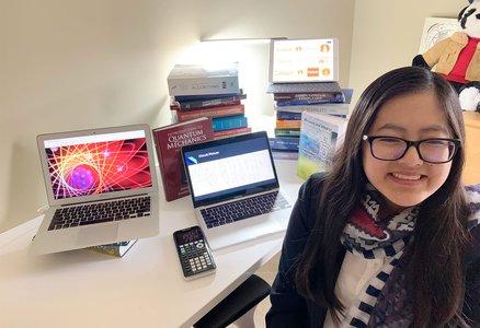 Photo of Caltech undergraduate student Laura Lewis.