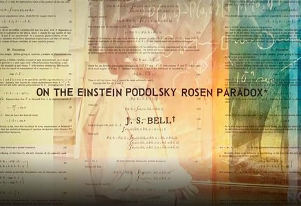Image of old scientific paper titled On the Einstein Podolsky Rosen Paradox by J.S. Bell