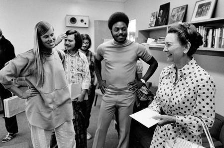 Shirley Hufstedler and Students