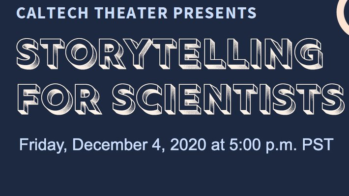 promo image for Storytelling for Scientists