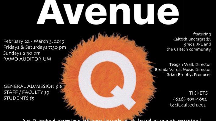 Avenue Q flyer