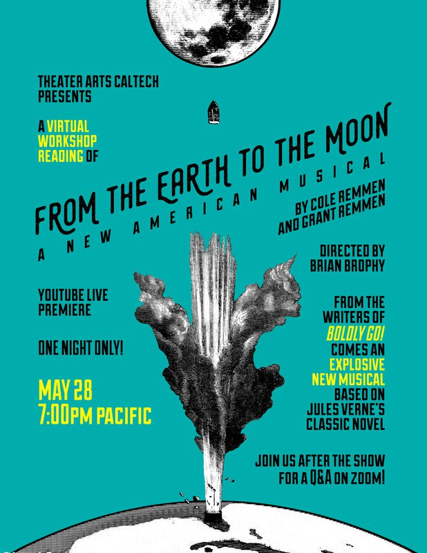 """poster for """"From the Earth to the Moon"""""""