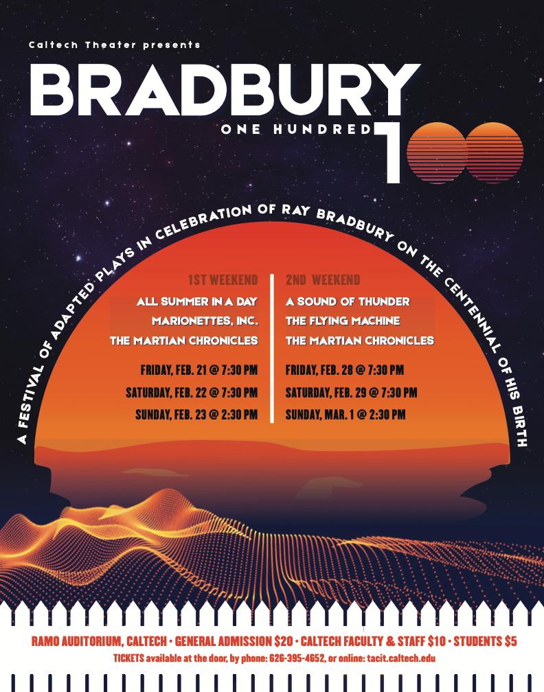 Bradbury poster