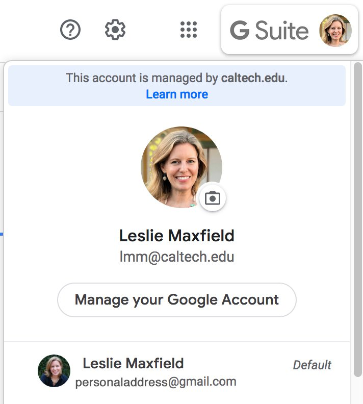 G suite toggle