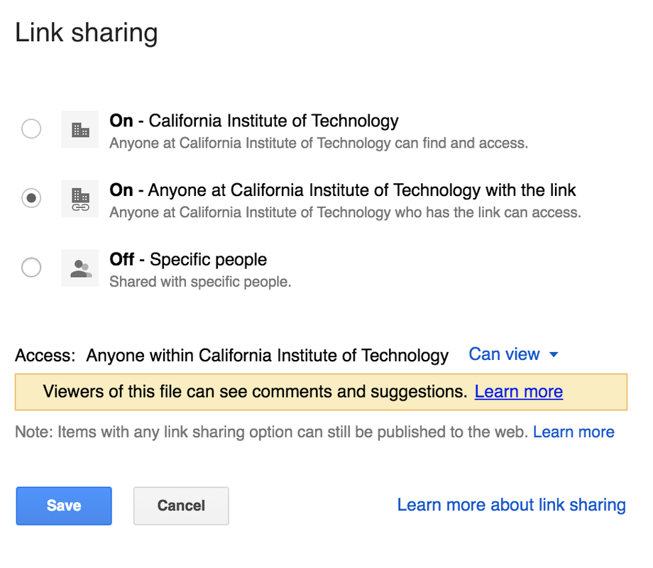 Limit Google Drive Access