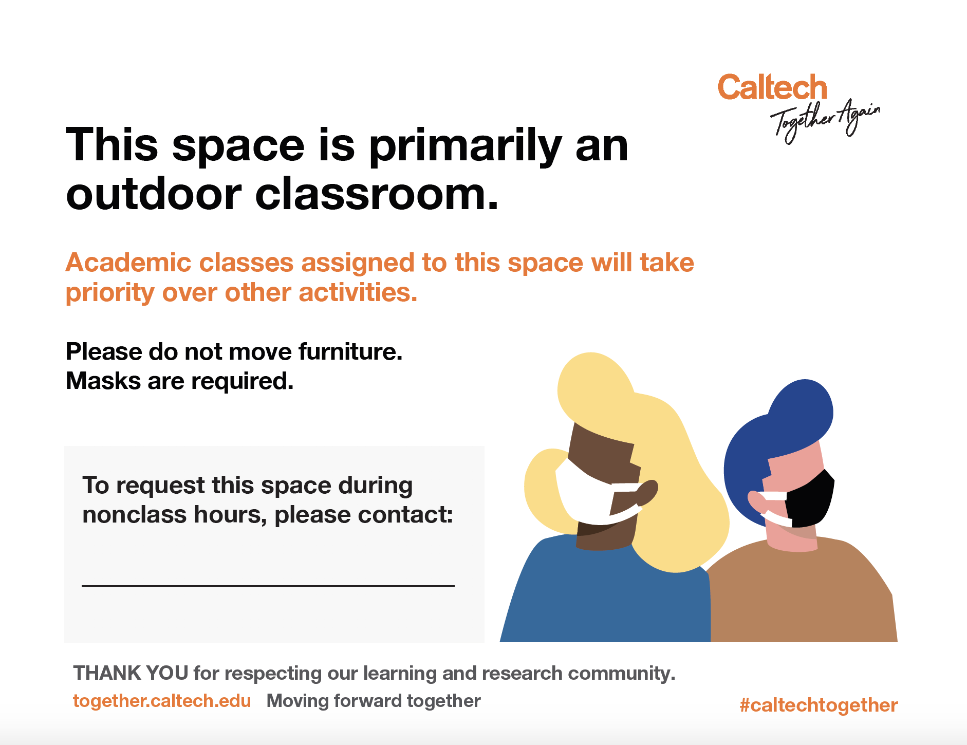 Outdoor Classroom Poster