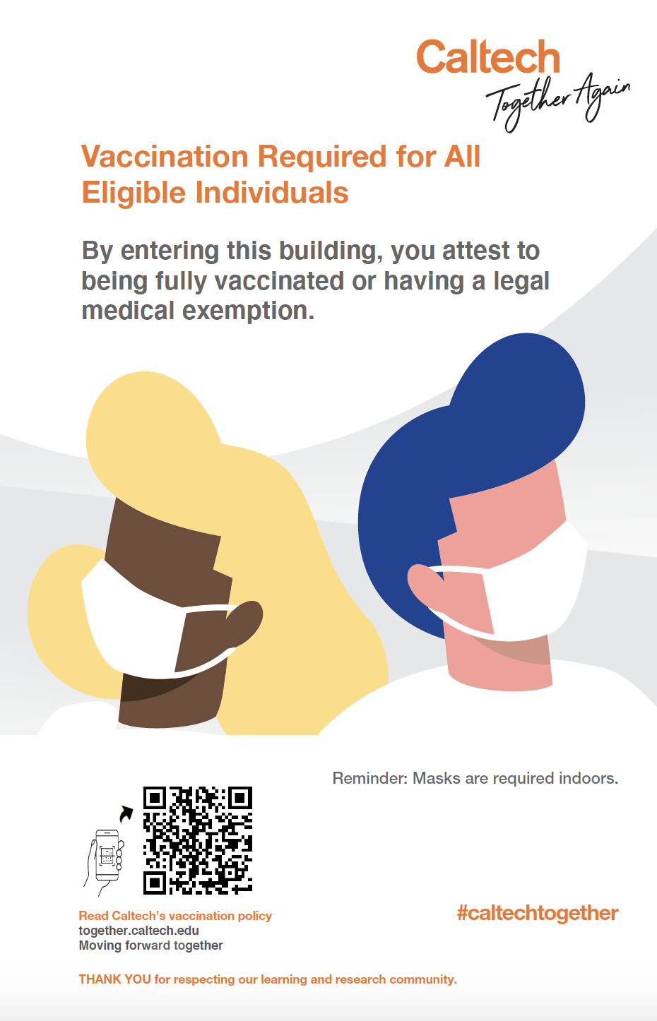 Vaccination Required For All Poster