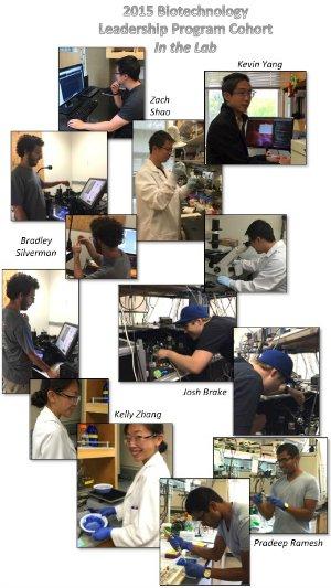 2015 Cohort in the Lab