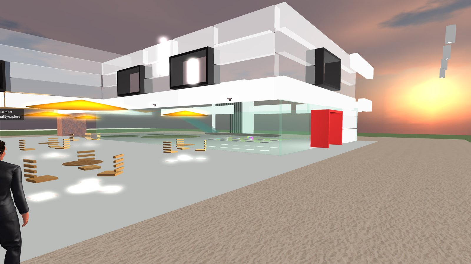 Hameetman Center in VIRTECH - a Virtual Campus and Community Space in virtual worlds