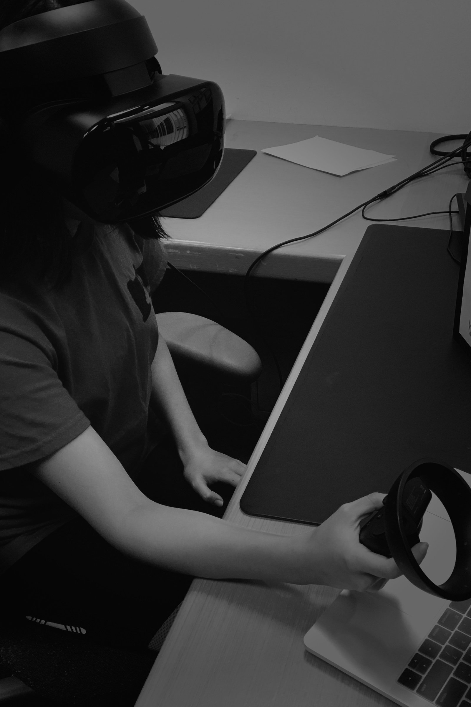Student prototyping in VR